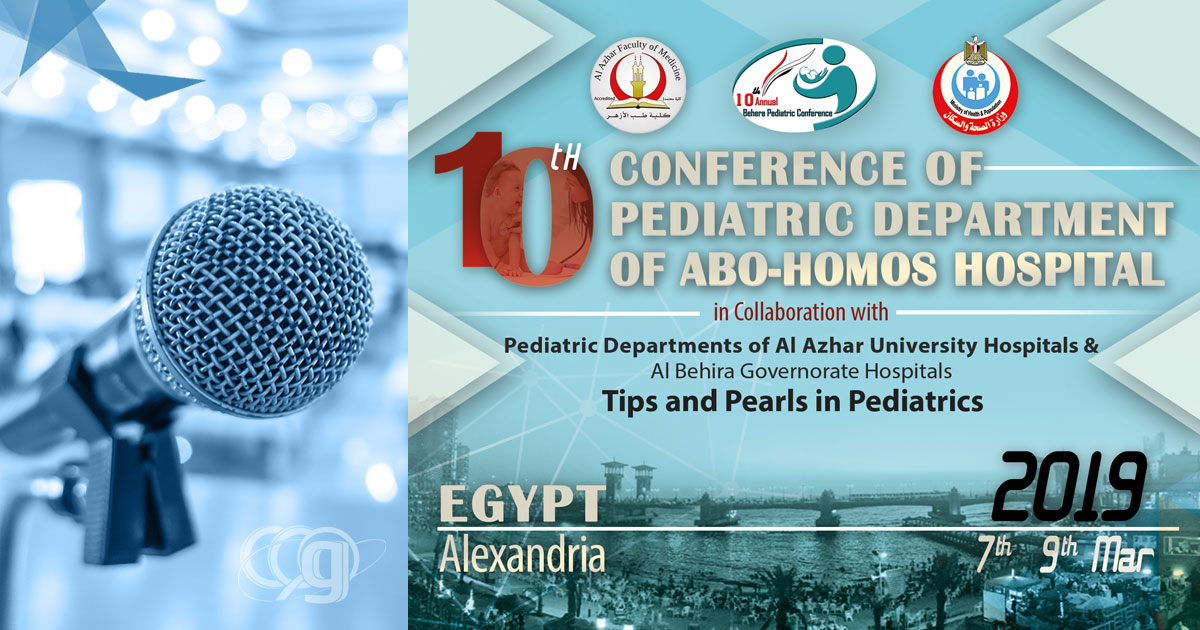 10th Conference of Pediatric Department of Abo-Homos Hospital