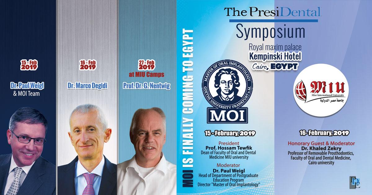 The PresiDental Symposium